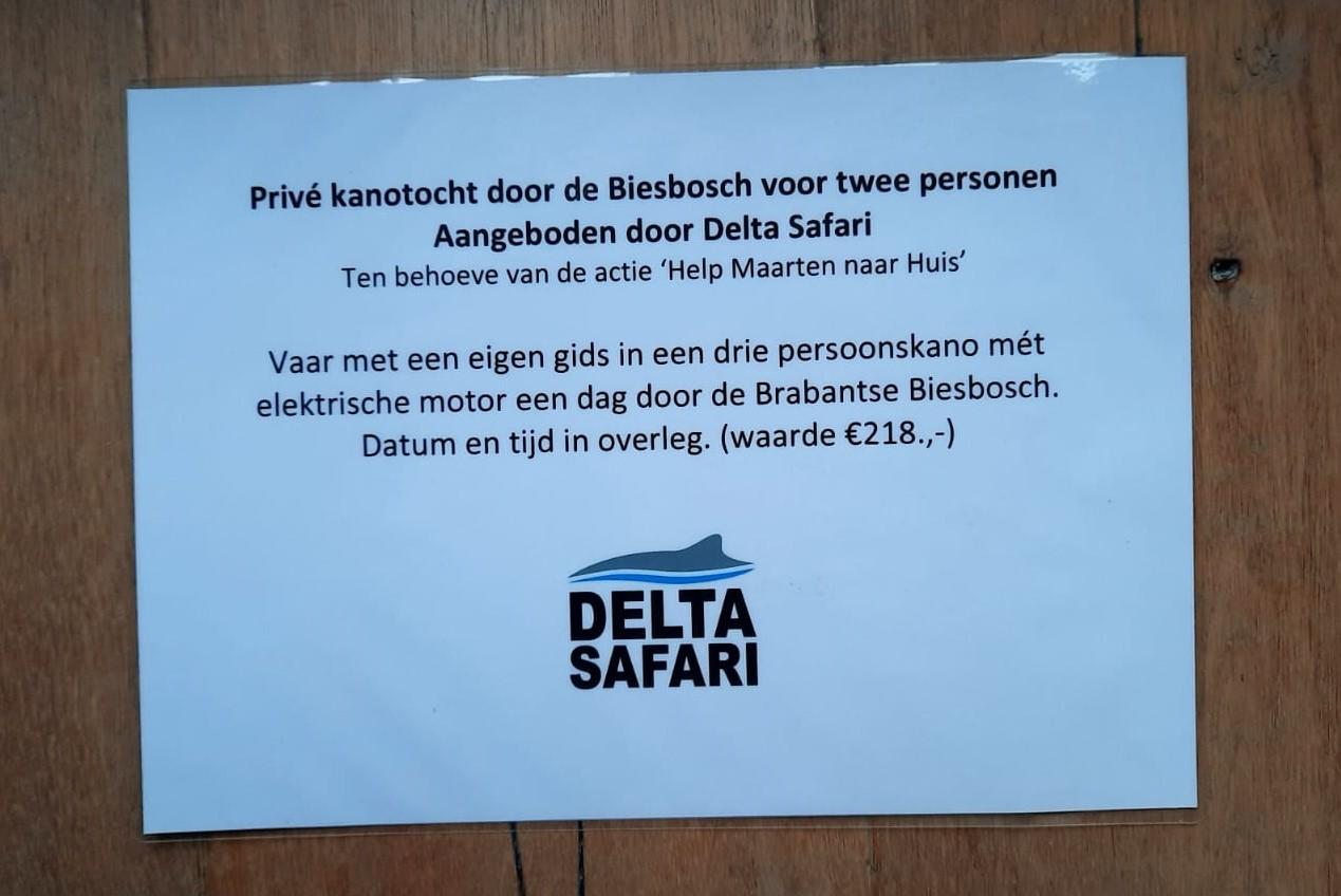 1-Daagse privé kanotocht voor 2 personen door de Biesbosch